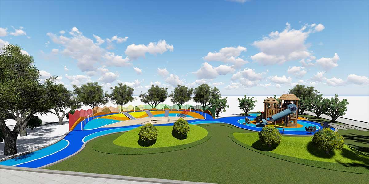 君臨世紀廣場兒童樂園游樂設計