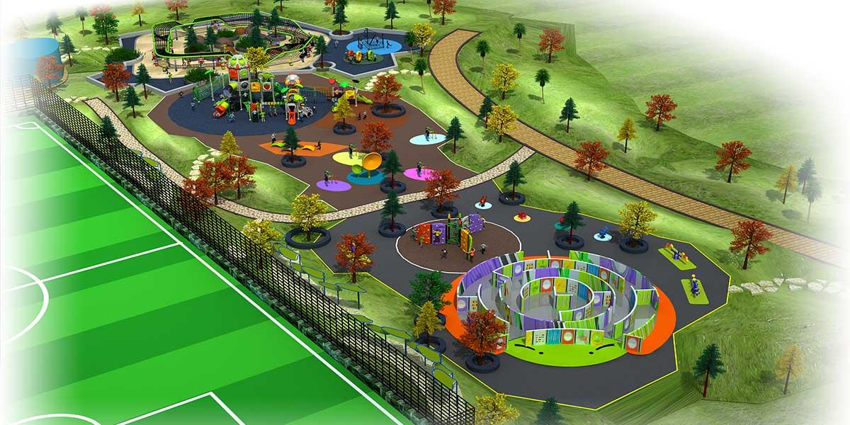 雲南 臘兒童公園設計